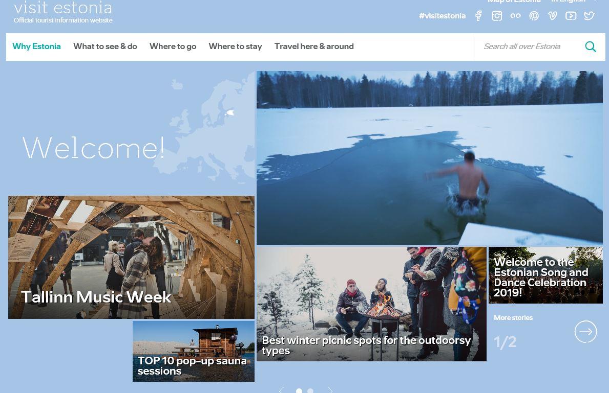 The Estonian Tourist Board's campaign, Estonian Way, won